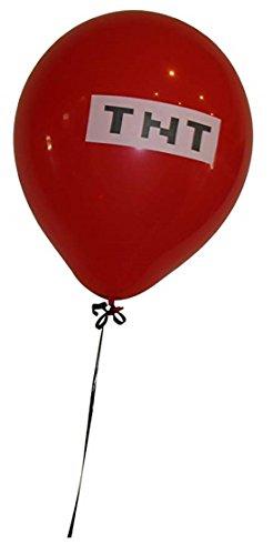 Pixelated Red TNT Balloon 12