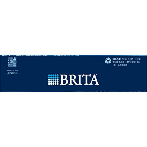 Brita Standard Replacement Filters for Pitchers and Dispensers, 4 Count, White