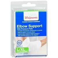 walgreens-elbow-support-with-pressure-pads-white-l-xl-1-ea