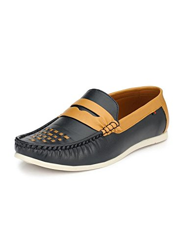 Guava Men Stylish Loafer Shoes - Blue  Buy Online at Low Prices in ... 1f35a1d965f