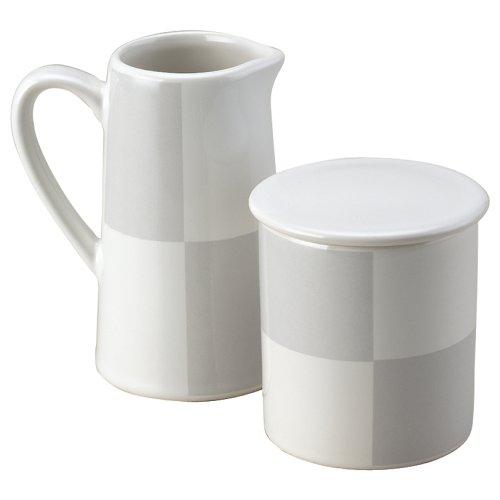(Nautica Arctic White Sugar and Creamer Set)