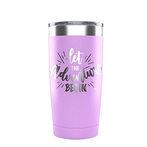 Let The Adventure Begin Insulated Stainless Steel Tumbler 20oz