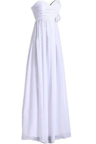 sunvary lentejuelas una línea Sweetheart cristales de tul novia Vestidos Homecoming blanco