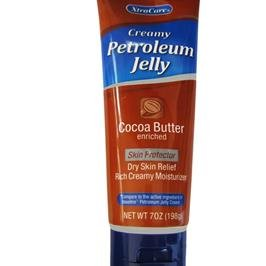 (4 Pack of Xtra Care Creamy Petroleum Jelly Skin Moisturizer Cocoa Butter Enriched 7 Ounces)