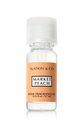 Bath and Body Works Slatkin & Co. Home Fragrance Oil Market Peach 0.33 fl oz - Peach Oil Lamp