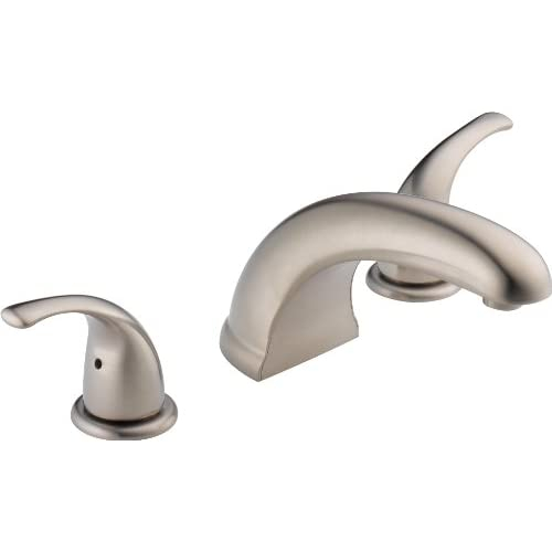 good Peerless PTT298510-BN Choice Two Handle Roman Tub Trim, Brushed Nickel (Rough-in not included)