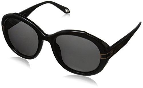 Givenchy Women's SGV827-9XK Round Sunglasses,Black,54 mm