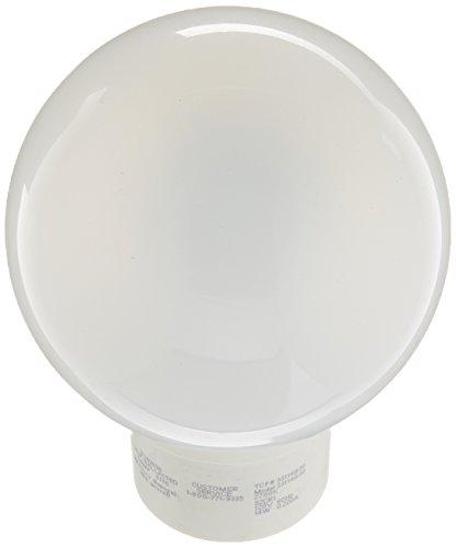 TCP 33114G30 Covered CFL Globe G30 - 60 Watt Equivalent (Only 14w used!) Soft White (2700K) Decorative Vanity Light Bulb - GU24 Base
