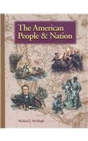 American People And Nation (Misc Homeschool)