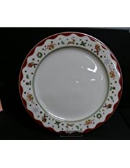 "Prouna My Noel 10.6"" Dinner Plate with Rim"