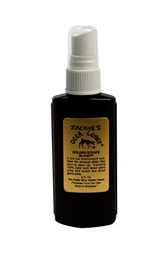 Jackies Deer Lures Golden Scrape Blend Hunting Scent
