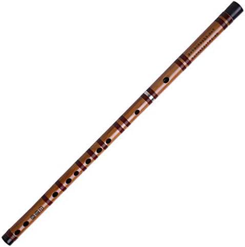 楽器 初心者やパフォーマンスのための中国のDizi苦い竹笛伝統的な手作りの音楽的な木管楽器楽器人気のギフト 木管楽器 (Color : A Minor)