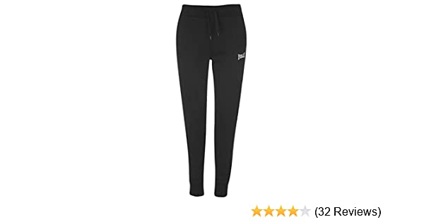 Everlast Jogging Bottoms Ladies Jersey Trousers Pants Cotton Elasticated Cuffs