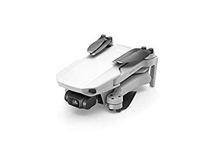 DJI Mavic Mini Fly More Combo Ultralight Foldable 3-Axis GPS Quadcopter Drone with 2.7K FHD Camera - 30 Minutes Flight Time, 2.5 Mile Transmission Range, Includes 3 Batteries, Carrying Bag and More