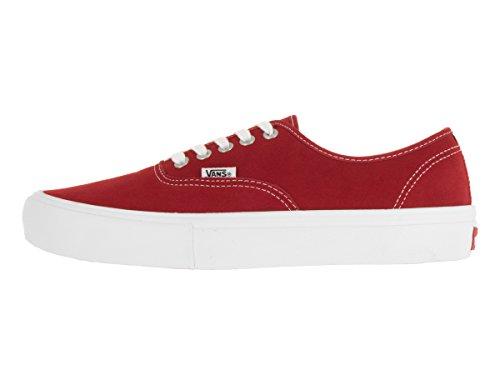 Vans Heren Authentieke Pro Skate Schoen Rood / Wit