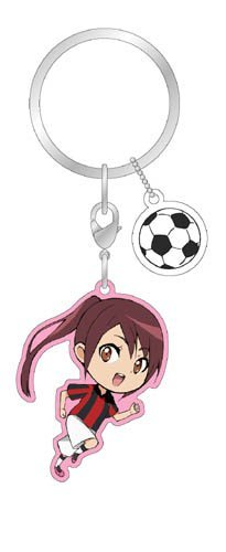 Kick-off to the galaxy! Metal Charm Keychain B. lofty Erika