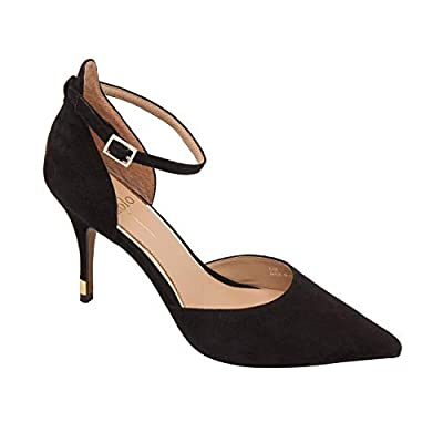 Linea Paolo | Page | A Striking Two Piece Halo Strap Pump with a Pointy Toe (New Fall)