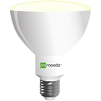 smart led bulbs 8w br30 70w equivalent compatible with alexa no gateway needed. Black Bedroom Furniture Sets. Home Design Ideas