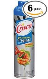 Crisco Original No-Stick Cooking Spray, 6-Ounce (Pack of 6) by Crisco