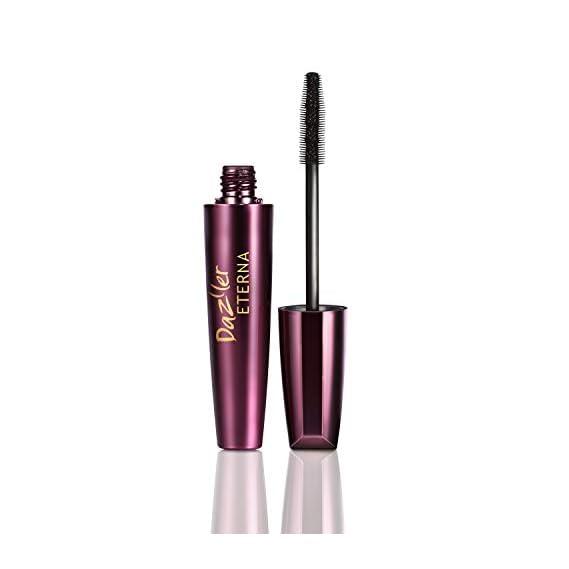 Dazller Eterna Mascara (Black) Waterproof with Herbals, 15g with FREE INSIDE Dazller Eterna Eyeliner (Black) Waterproof