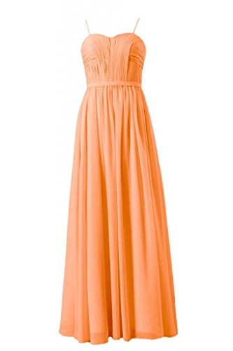 22 w Dress DaisyFormals orange Straps Dress Evening Long BM1037ES Party Beach Chiffon 0qqOv6wxp