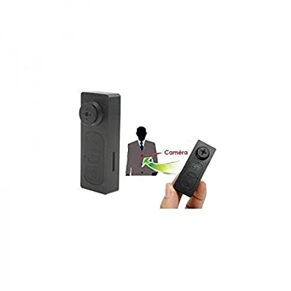 Botón de camisa cámara espía Mini cámara USB – tarjeta Micro SD 8 GB