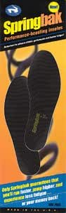Springbak Athletic Shoe Insoles / Springbak: Run Faster And Jump Higher Guaranteed. Patented and proven technology.