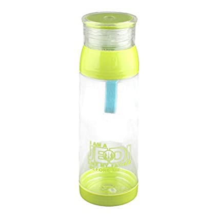 eDealMax Titular de la Botella de plástico al aire Libre casero Tapón de tuerca té Agua