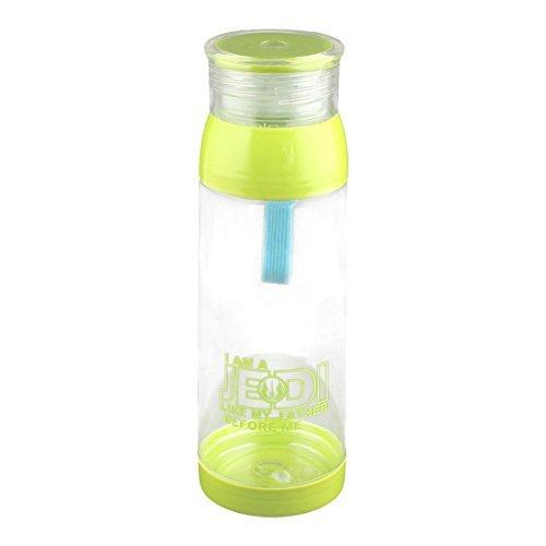 DealMux plástico Início Outdoor Screw Cap Água Milk Tea Bottle Titular Container Caneca Cup 650ml Luz verde