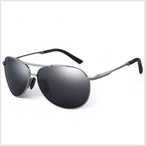 Polarizadas De La De Gray Hombres Black Gafas De Sol Moda ZYZHjy qSY8Ew5