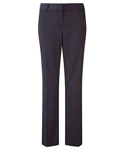 Alexandra de cuidado fácil stc-nf131na-24t pantalones de la mujer, plain, 100% poliéster, de altura, tamaño 24, azul marino