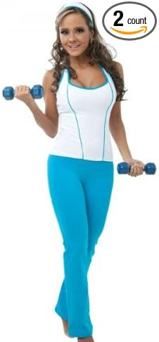 Amazon.com : gym clothes 2 PICES SET, PANT AND TANK ...