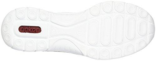 Ice L3263 Ginnastica Scarpe Silverflower Argento da Basse Rieker Donna Bianco Weiss x0qPawPdt