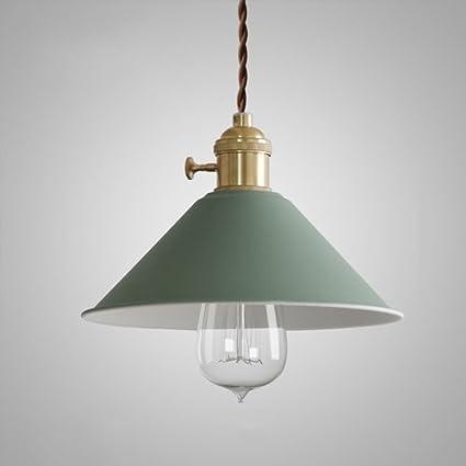 GBYZHMH 1- luz Metal Chandelierr Macarons Macarons moderna lámpara colgante paraguas Shadefor Salón Restaurante Sala