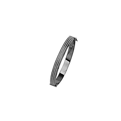 Bangle Bracelet, 8MM 3 Row Glitter Lightz Bangle by DiamondJewelryNY