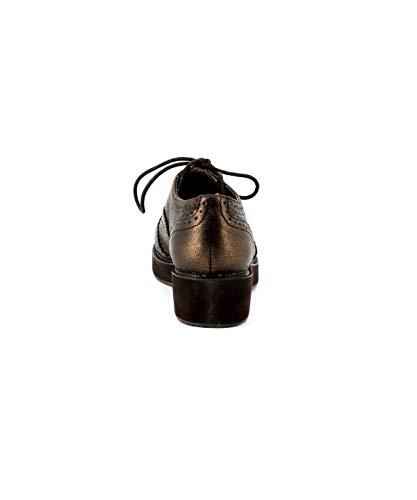 Compensée Derbies Cassis Bronze Cote D'azur Baleo xUqwR64