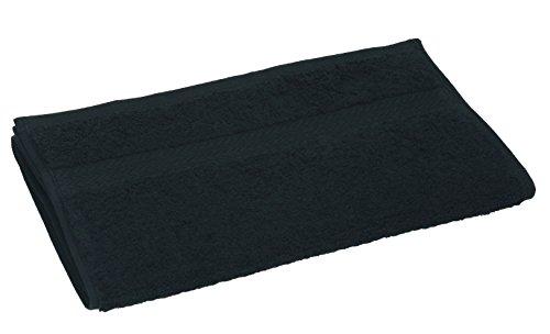 BETZ 10 Toallas de Cara 30x30cm Premium 100% algodón Color Negro: Amazon.es: Hogar