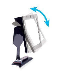 ToiletTree Products Fogless Shower Bathroom Mirror with Squeegee, Silver by ToiletTree Products (Image #6)