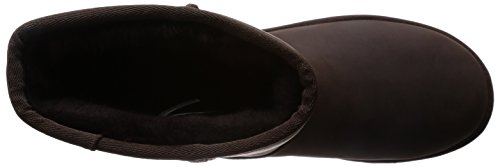 Ugg Mens Classic Short Boot Stout In Pelle