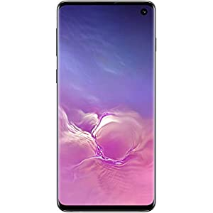 Samsung Electronics Galaxy S10 Certified Pre-Owned Unlocked Phone with 128GB and 12 Month U.S. Warranty, Black (Renewed) (SM5G973UZKAXAA)