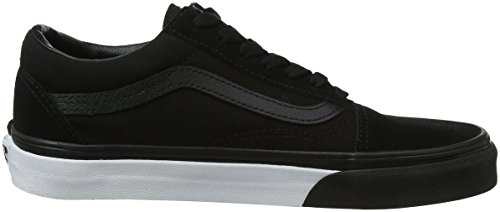 Mono True Classic Skate Skool Shoes Black Old Bumper Unisex Vans 6wxnavz