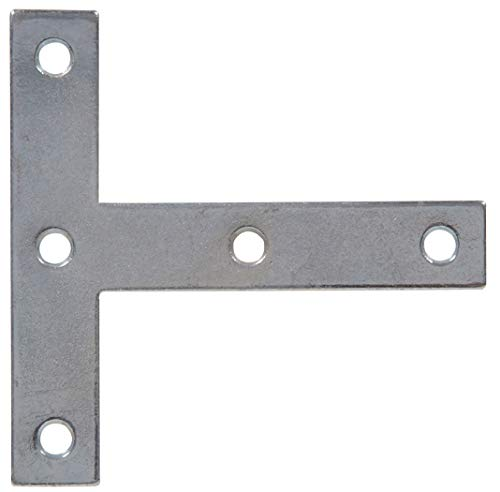 - The Hillman Group 851713 4 x 4-Inch T-Plate, Zinc Plated