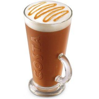 Costa Coffee V Glass Large Geniune 440ml Brand New