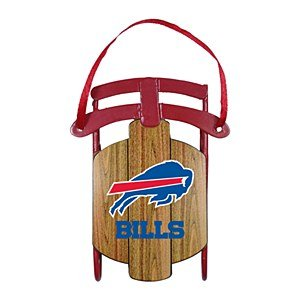 NFL Buffalo Bills Sled Ornament