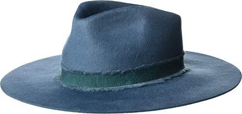 Brixton Women's Ella Fedora Orion Blue XS (6 3/4) (Xs Hat Fedora)