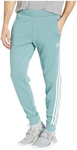 [adidas(アディダス)] メンズパンツ・長ズボン・ジャージ下 3-Stripes Pants Vapour Steel S [並行輸入品]