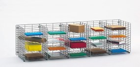 Charnstrom 20 Pockets Legal Depth Shelf Wire Sorter (W461)