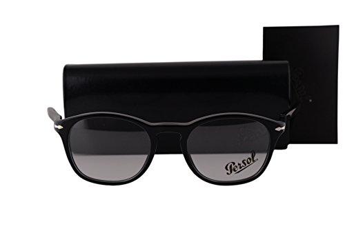 Persol PO3007V Eyeglasses 48-19-145 Black 95 - Persol Po3007