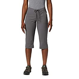 Columbia Women's Anytime Outdoor Capri, Water and Stain Repellent