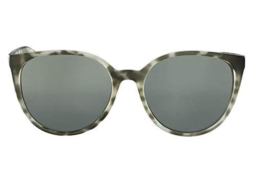 e4289de0f Óculos de Sol Grazi Massafera GZ4027 F724 Tartaruga Branco Lente Espelhada  Prata Cinza Degradê Tam 54